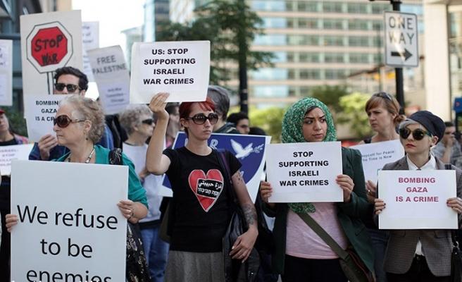 Lübnan ve Gazze'de İsrail'le normalleştirmeye karşı gösteri yapıldı