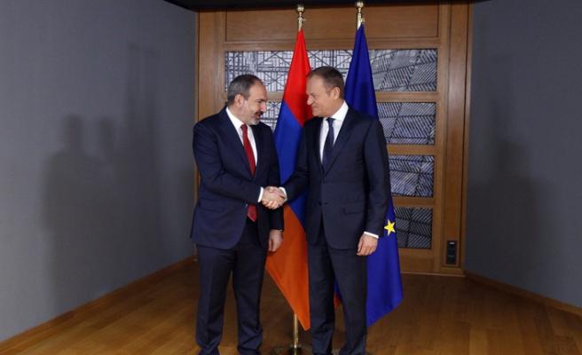 Paşinyan'dan Brüksel'de Dağlık Karabağ zirvesi