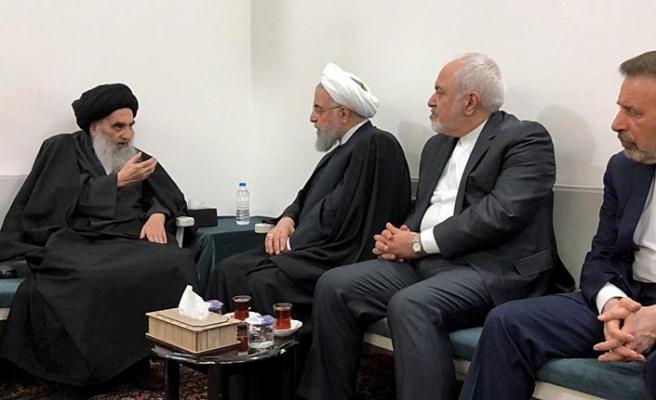 Ruhani Necef'te Sistani ile görüştü