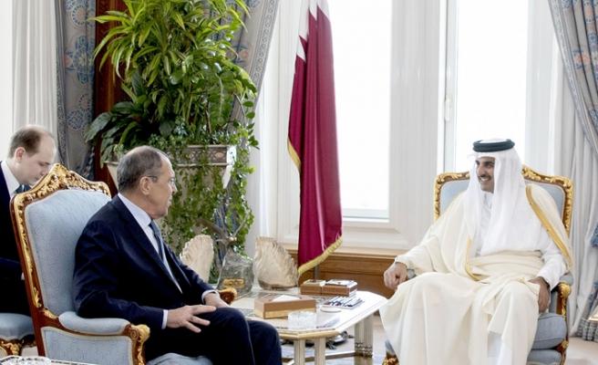 Rusya Dışişleri Bakanı S-400'ler için Katar'a gitti