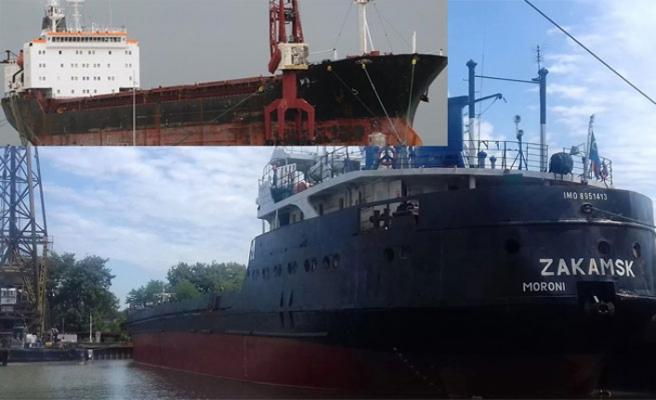 Zeytinburnu açıklarında gemiler çarpıştı
