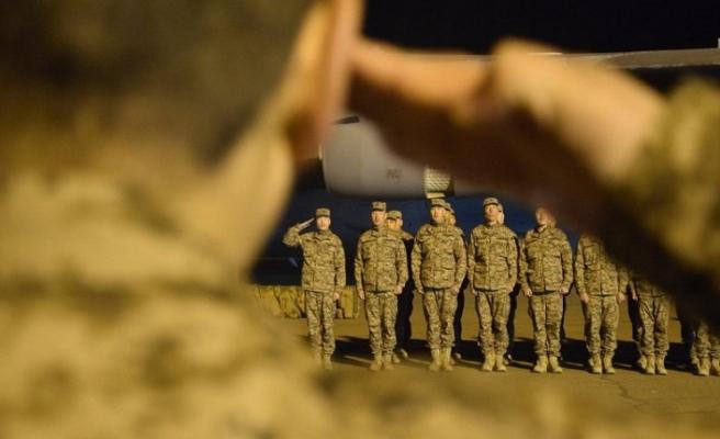 113 Moğol asker Afganistan'a gönderildi