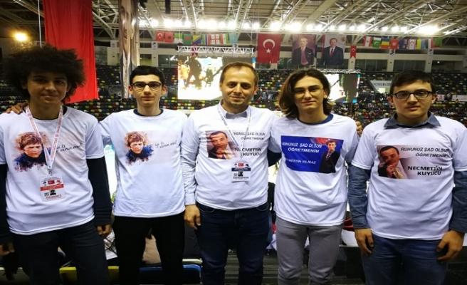 13. MEB Robot Yarışmasında Marmara AİHL Farkı
