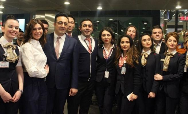 THY Atatürk Havalimanı'ndan son tarifeli seferini yaptı