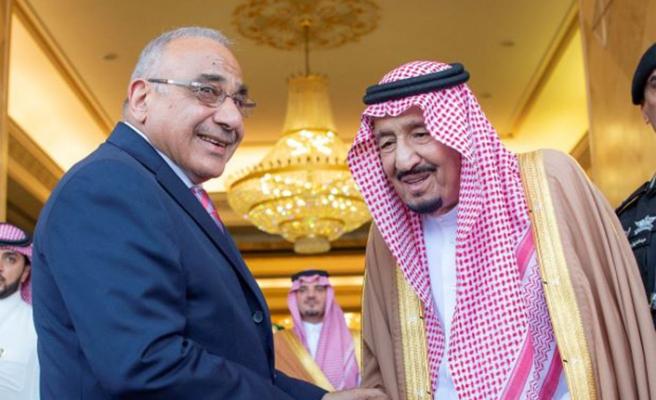 Irak Başbakanı Suudi Arabistan'da
