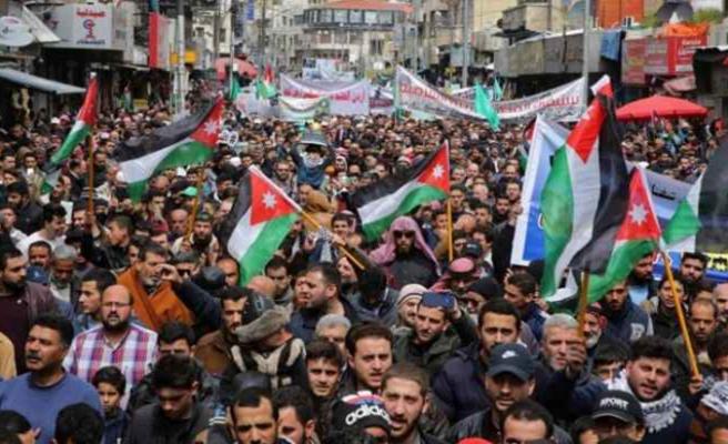 Ürdün'de Kral 2. Abdullah'ın Kudüs siyasetine halktan destek