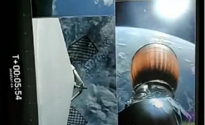 SpaceX  uzaya ilk ticari uçuşunu Arabsat-6A için yaptı