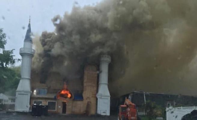 ABD'li yetkililer caminin kundaklandığını açıkladı