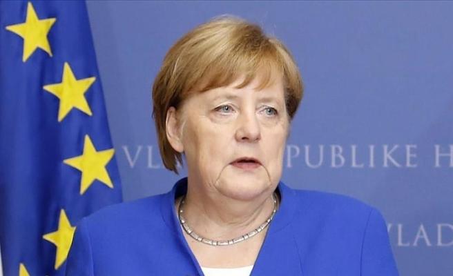 Almanya Başbakanı Merkel: Avrupa'da barışın, güvenliğin ve özgürlüğün kalıcı olmasını istiyoruz
