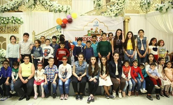 Bakü'de 'Kardeşlik Sofrası' kuruldu