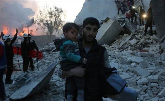 Esed rejiminden İdlib'e 'beyaz fosfor'lu saldırı