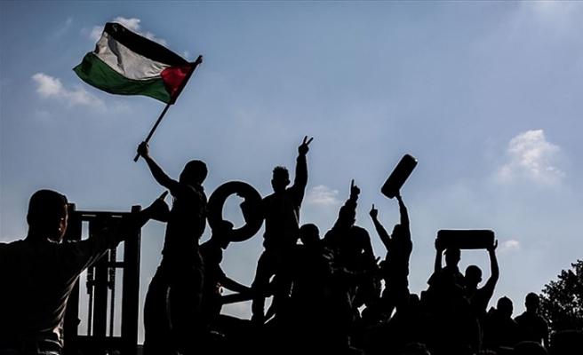Hamas: Milyonluk yürüyüş Filistinlilerin haklarına bağlılığını vurguluyor