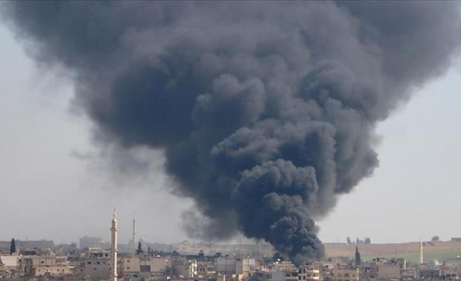 İdlib'de iftardan önce pazara saldırı: 5 ölü, 20 yaralı