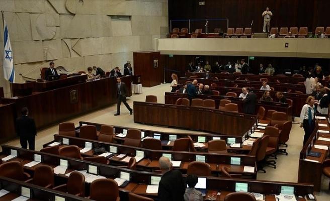İsrail'de meclisin feshedilmesini öngören tasarı ilk oylamadan geçti