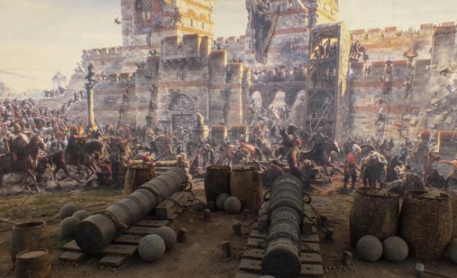 İstanbul'un fethi sırasında kaybedilen deniz savaşı