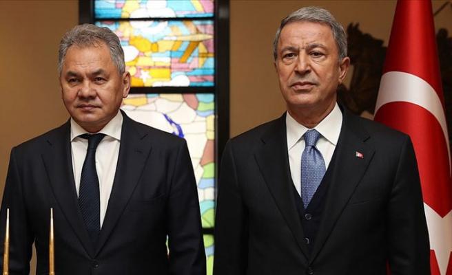 MSB Akar, Rusya Savunma Bakanı ile görüştü