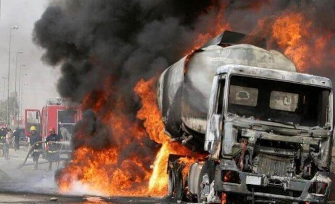 Nijer'de yakıt tankeri patladı: 55 ölü