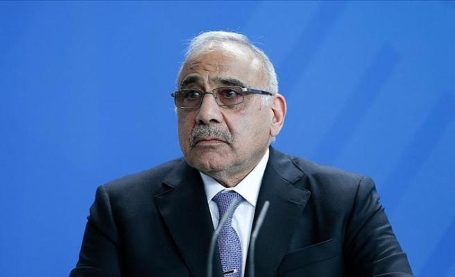 Irak Başbakanı Abdulmehdi: Önümüzdeki günlerde Washington ve Tahran'ı ziyaret edeceğim