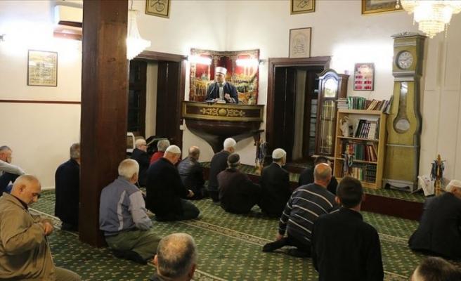 Osmanlıların ramazan gelenekleri Üsküp'ün tarihi camisinde yaşatılıyor