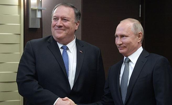 Putin Pompeo ile uluslararası konuları görüştü