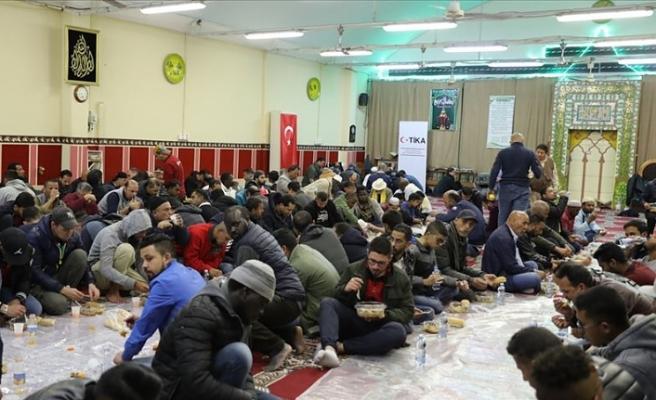 TİKA'dan İtalya'da iftar