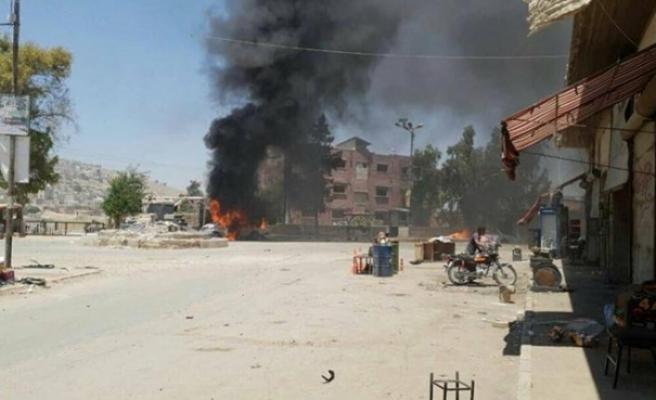 Afrin'de patlama, bir ÖSO üyesi hayatını kaybetti