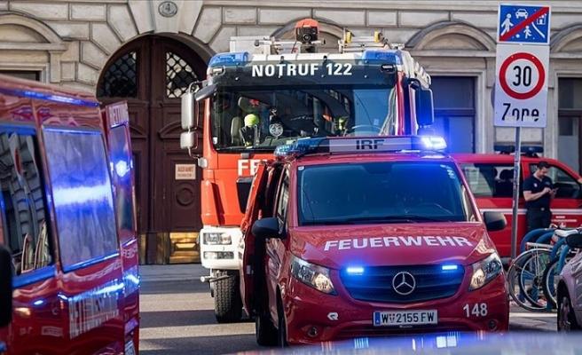 Avusturya'da bir apartmanda patlama: 12 yaralı
