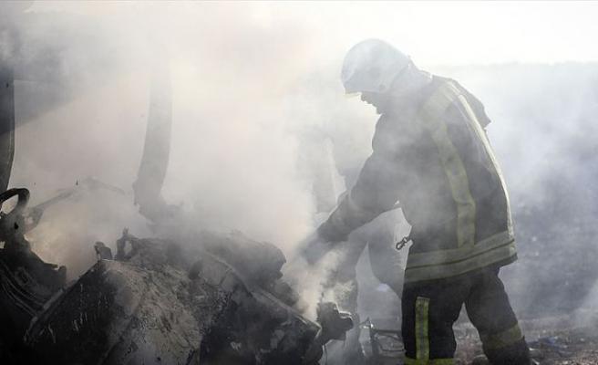 Azez'de bombalı terör saldırısında 14 sivil hayatını kaybetti