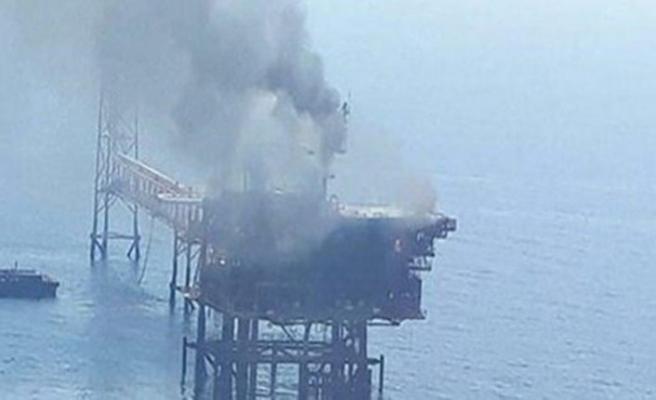 Basra Körfezi'nde petrol çıkarma tesisinde patlama
