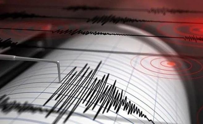 Çanakkale Ayvacık ilçesi açıklarında 4.1 büyüklüğünde deprem