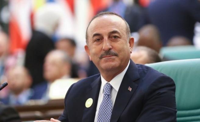 Çavuşoğlu'ndan İslam Zirvesi'nde Filistin çıkışı
