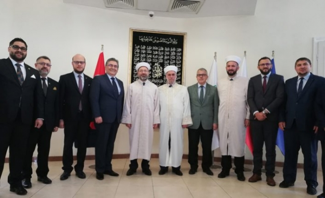 Diyanet İşleri Başkanı Ali Erbaş Bulgaristan'da