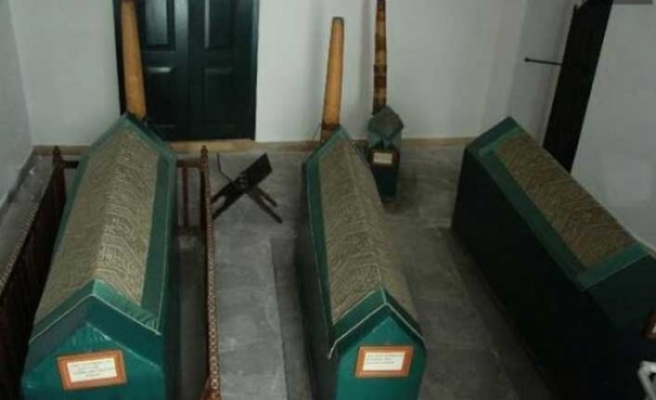 Dolmabahçe Sarayı'nda 200 yıllık bilinmeyen türbe