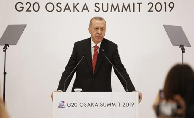 Erdoğan G20 Zirvesinde Kaşıkçı ve Mursi'yi hatırlattı