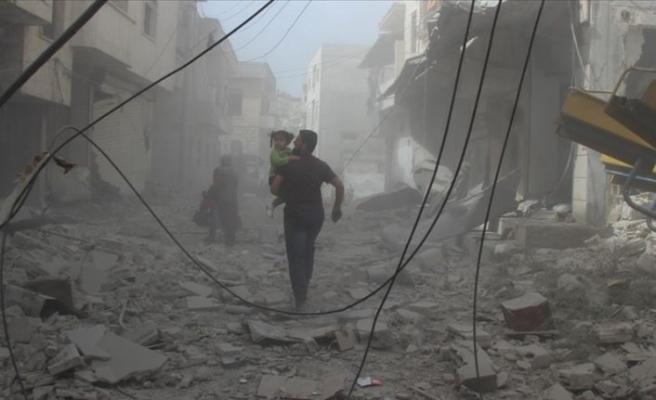 Esed rejiminden bayramın ilk gününde bombardıman