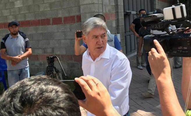 Eski Kırgızistan Cumhurbaşkanı Atambayev'in dokunulmazlığı kaldırıldı