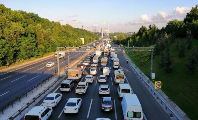 Fatih Sultan Mehmet Köprüsü'ndeki çalışma 17 Ağustosta bitecek