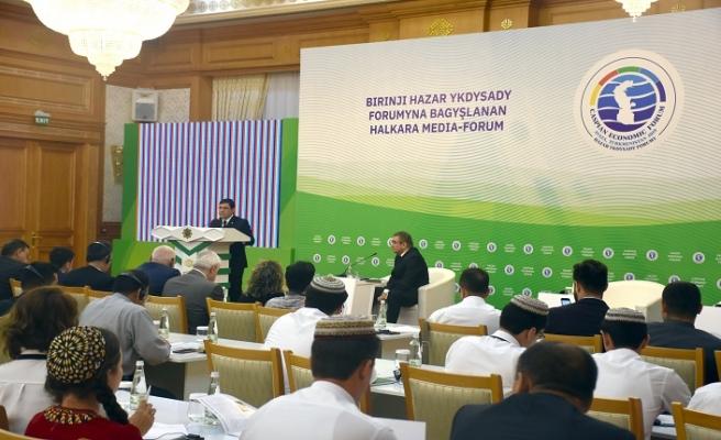 Hazar Ekonomik Forumu tanıtım toplantısı yapıldı