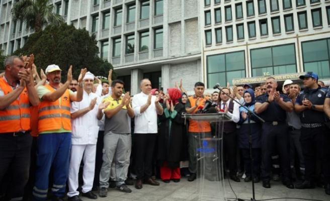 İBB çalışanlarından gerçeği yansıtmayan iddialara açıklama