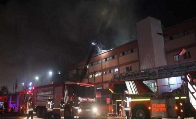 İstanbul'daki fabrika yangınında 4 ölü
