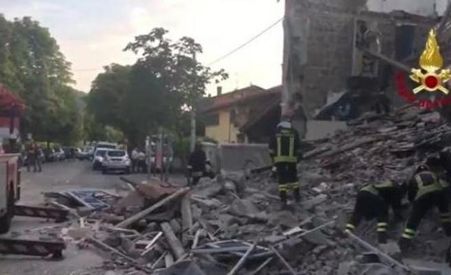 İtalya'da patlama