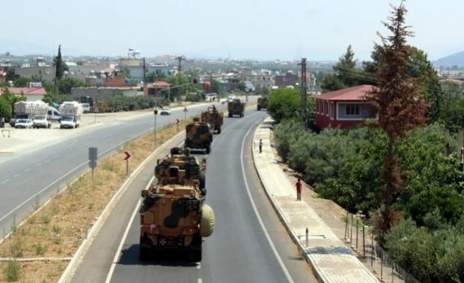 Komandolar Suriye sınırına sevkedildi