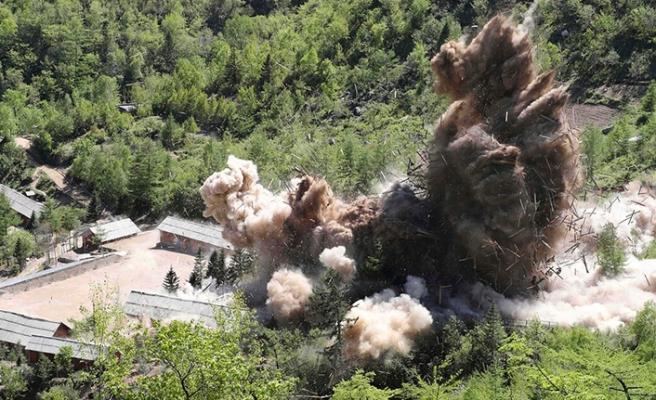 Kuzey Kore-Çin sınırında şüpheli patlama