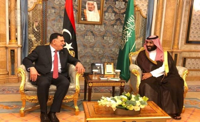 Libya lideri Serrac Prens Selman ile ülke sorunlarını konuştu