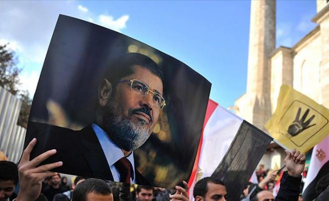 Muhammed Mursi için Hacı Bayram'da gıyabi cenaze namazı