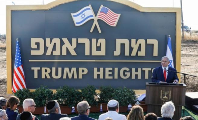 Netanyahu'dan işgal, Trump'tan teşekkür