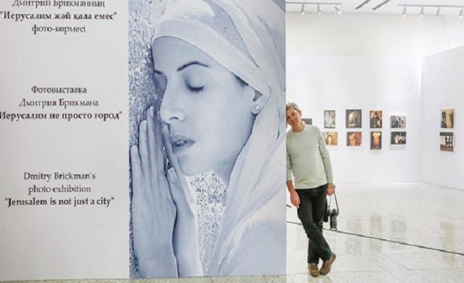 Özbek makamları İsrailli sanatçının Kudüs isimli sergisine izin vermedi