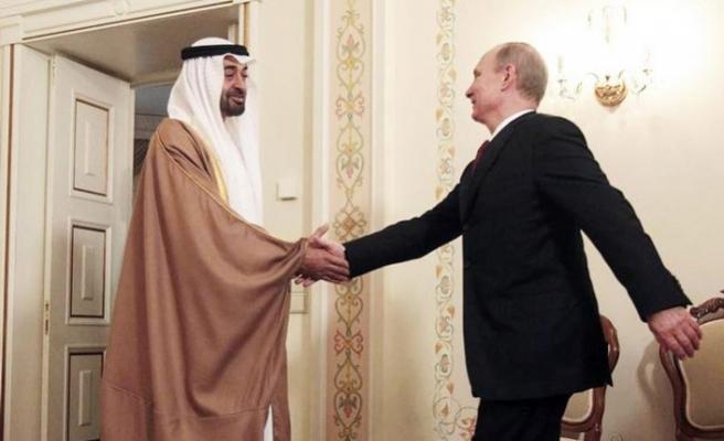 Putin Abu Dabi Veliahtı Zayid Al Nahyan ile Körfez'i görüştü