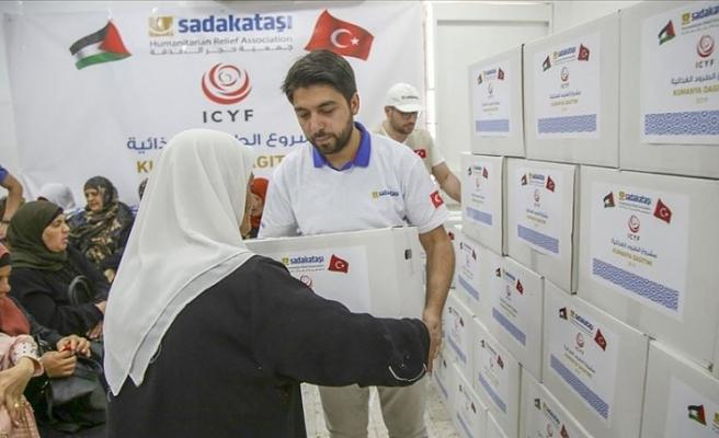 Sadakataşı Derneğinden Kudüs'te ramazan yardımı