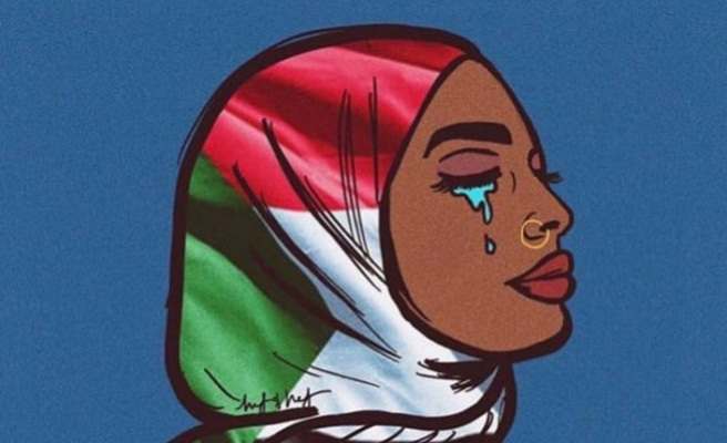 Sosyal medya Sudan için neden maviye dönüyor?